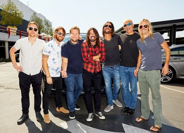 Best Carpool Karaoke Ever? Foo Fighters Join James Corden And Rock The You Know What Out Of The Car (VIDEO)