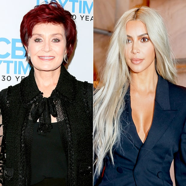 Sharon Osbourne Is Eating A Big Bowl Of Crow, Backtracks On The Kim Kardashian Comments After Being Put In Her Place By Kim Herself