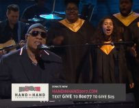 Stevie Wonder And Beyonce Keep It Real During Telethon Event For Hurricane Relief, Call Out Racists And Climate Change Deniers (VIDEO)