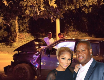 Tamar Breaks down on Live, Vince Totals His Pick Up Truck Crashing Head On Into a Tree & Tamar Appears Unbothered.  Is It Finally Over Between the Two (4 Accident Photos)