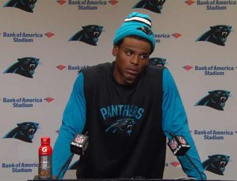 Cam Newton Is Getting Slammed Online After Making Sexist Comment To A Reporter Who Was Just Doing Her Job (VIDEO)