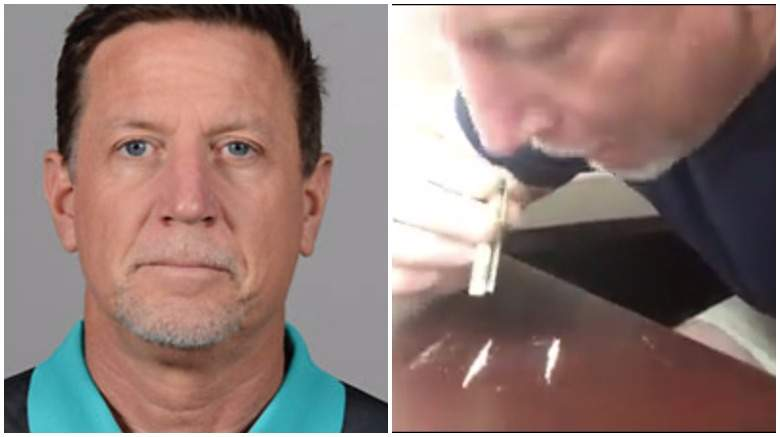 Miami Dolphins Offensive Line Coach Resigns (Aka Fired) After Video Shows Him Snorting Cocaine And Professing His Love For Model