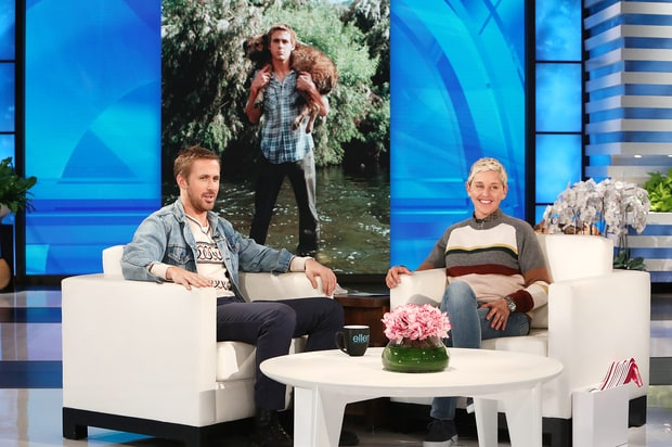 Ryan Gosling Remembers His Late Dog George In Touching Tribute On The Ellen DeGeneres Show (VIDEO)