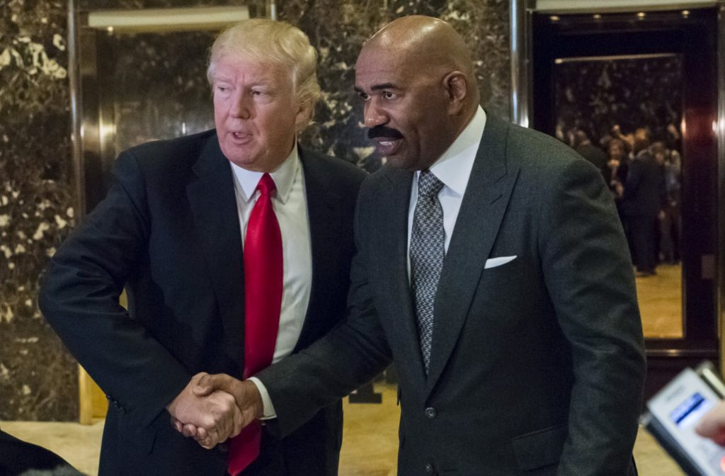 KARMA! Steve Harvey's New Show Is On The Chopping Block As He Loses His Day One Fans.  He Says Meeting With Trump Was The Worse Mistake Ever! (We Have the Numbers!)