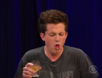 Charlie Puth Nearly Throws Up On Television During Hilarious Game Of 'Spill Your Guts or Fill Your Guts' With Josh Gad And Rachel Bloom (VIDEO)