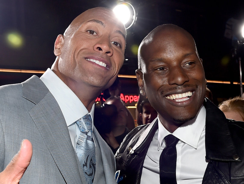 """Tyrese Has Lost His Mind.  After The Rock's Solo Project Pushes Out The Next """"Fast"""" Movie, Tyrese Goes on Social and Attempts to Clown the Rock!"""