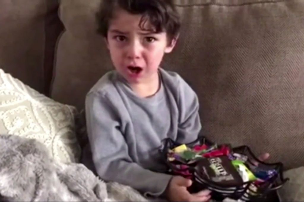Jimmy Kimmel's 2017 'I Told My Kids I Ate All Their Halloween Candy' Challenge Has Been Released, Watch The Hilariousness Inside! (VIDEO)