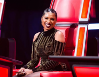 Jennifer Hudson Puts On Brave Face As She Returns To 'The Voice' Live Taping Following Split From Fiancé