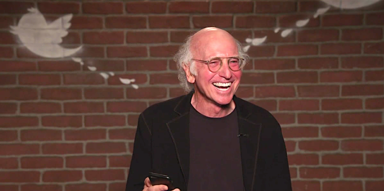 Contagious Laughter: Larry David's Mean Tweets Outtakes Are Funnier Than Any Single Mean Tweet Ever, Watch The Hilarious Video Inside!