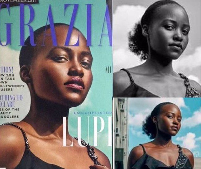 Lupita Nyong'o Calls Out Magazine For Photoshopping Her Natural Hair, Photographer Responds With An Apology (PHOTOS)