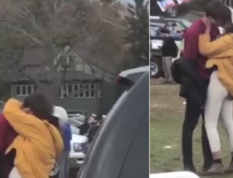 Surprise, Surprise! Malia Obama Is A Normal College Student, Spotted Making Out With Mystery Dude Before Harvard-Yale Game (VIDEO)