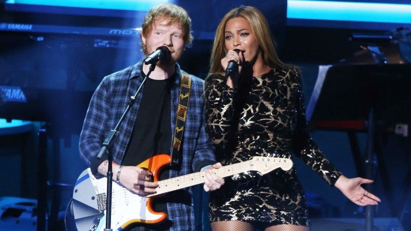Ed Sheeran Reveals Beyonce Changes Her Email Address Every Week