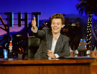 Harry Styles To The Rescue: Hosts The Late Late Show For James Corden On Just Two Hours Notice…FIND OUT WHY INSIDE! (VIDEO)