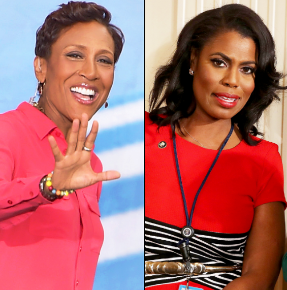 "The Internet Is Laughing Their Butts Off After Robin Roberts Disses Omarosa With A Subtle ""Bye Felicia!"" Following Interview! (VIDEO)"